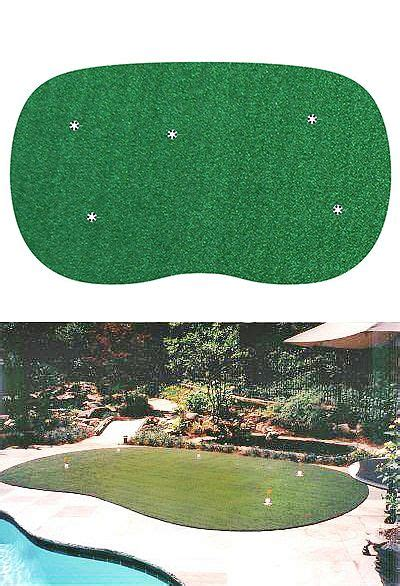 Backyard Golf Drills by Starpro Greens 9 Ft X15 Ft Indoor Outdoor Synthetic Turf