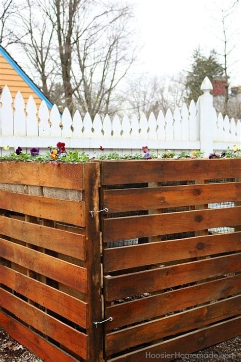 remodelaholic  outdoor pallet projects