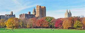 New York City Central Park Panorama At Autumn Photograph ...