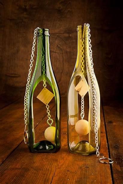 Bottle Bottles Glass Wine Wind Chimes Diy