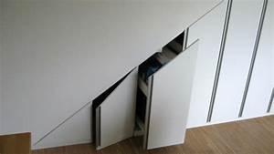 Schrank Unter Schräge : schrank unter treppe ma anfertigung ~ Michelbontemps.com Haus und Dekorationen