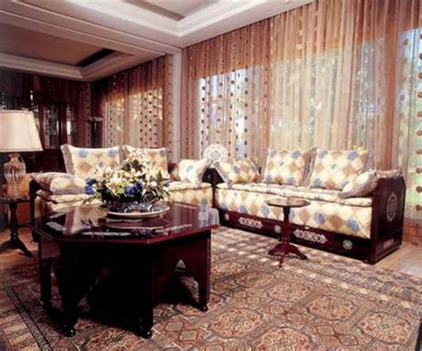 le monde du salon marocain