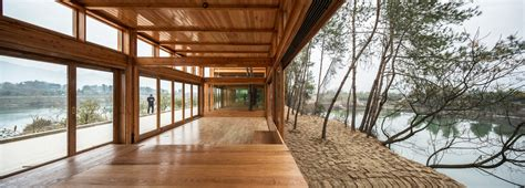 Pavillon Holz Architektur by Geschichten In Holz Gefasst Pavillon Dna Design And