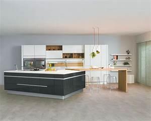 Ilot Centrale Pas Cher : cuisine avec lot central mod le sensations ~ Dailycaller-alerts.com Idées de Décoration