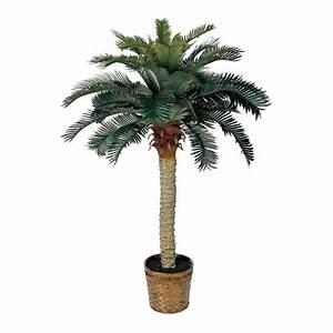 Nearly Natural 5043 Sago Silk Palm Permanent Tree eBay
