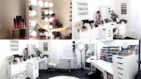 walk in closet organizer design makeup room filming set up exciting