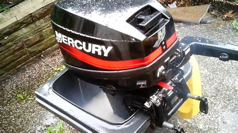 kajütboot 15 ps testlauf mercury 15 ps au 223 enborder teil 2 probelauf