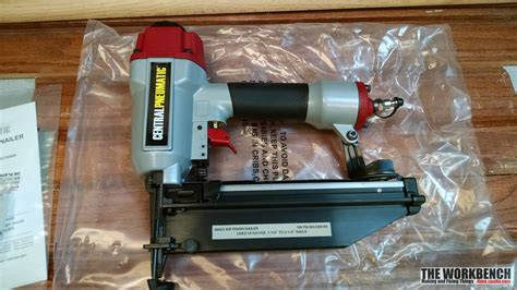 Central Pneumatic Floor Nailer Manual by Central Pneumatic 16 Air Finish Nailer Review The