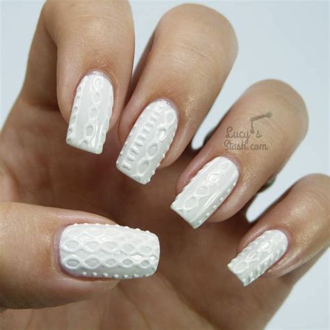 sweater nail sweater nails are all the rage right now here s how to get the 3 d cable knit nail look it s