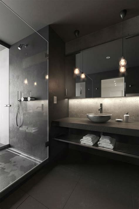 unique decor ideas lets turn  bathroom  black