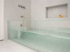 Grande Cabine De Douche : salle de bain avec douche italienne et baignoire kirafes ~ Dailycaller-alerts.com Idées de Décoration