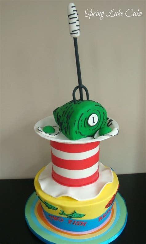 dr seuss birthday cake       head