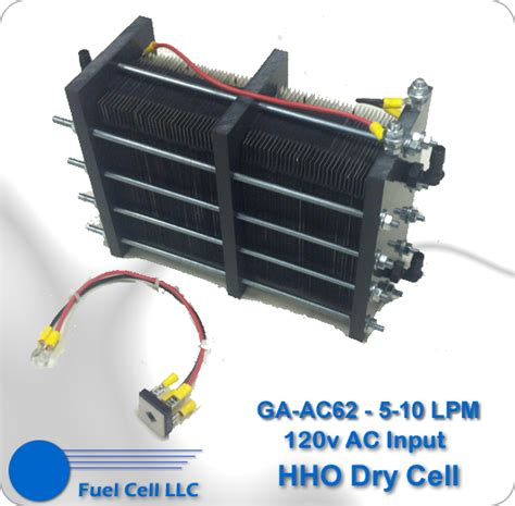 big 62 hho cell 120 volt ac hho hydrogen on demand fuel cell big rig hho hydrogen run