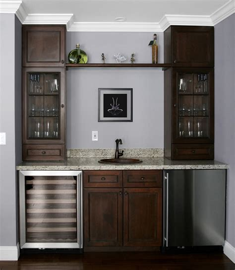 mini refrigerator cabinet bar useful and cool mini bar cabinet ideas for your kicthen