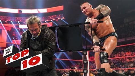 Top 10 Raw Moments Wwe Top 10 Feb 17 2020 Youtube