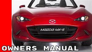 Mazda Mx 5 Miata Features And Options Manual Guide