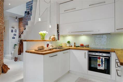cuisine verte et blanche la cuisine blanche dans toute sa splendeur