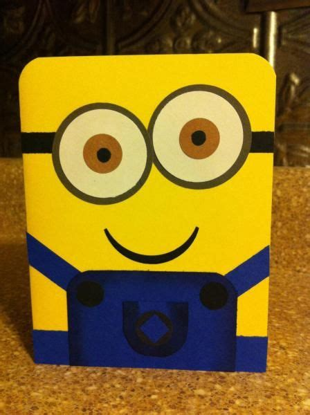 minion rush  goodfridaymommy cards  paper crafts
