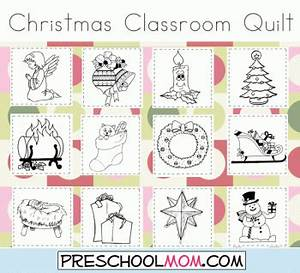 Free Printable Christmas Classroom Quilt