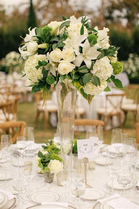 tall floral arrangements  weddings  meme source