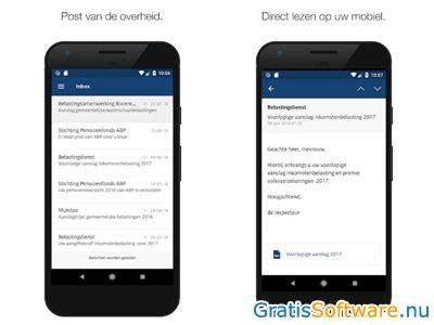 berichtenbox downloaden gratis overheid berichten lezen app