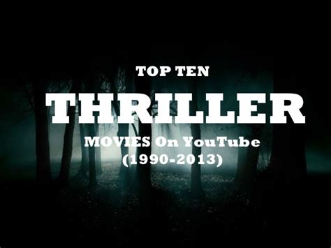 Best Thrillers 2013 Top Ten Thriller On 1990 2013