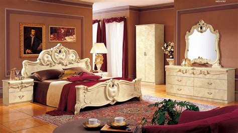 Made In Italy Leather High End Bedroom Furniture Glendale