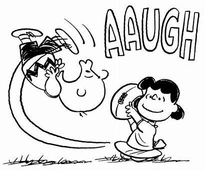 Peanuts Charlie Comic Football Brown Lucy Schulz