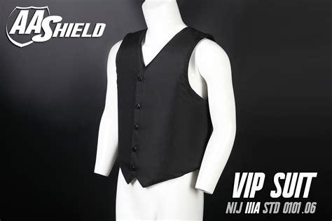 Aa Shield Bulletproof Vip Suit Vest Concealable Aramid