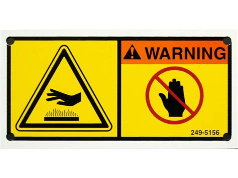 Safety Labels by Custom Safety Labels Tags Industrial Warning Signs