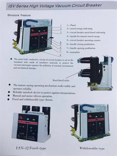Types High Voltage Circuit Breakers Vcb Buy