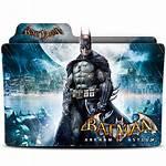 Batman Icon Arkham Folder Asylum Deviantart