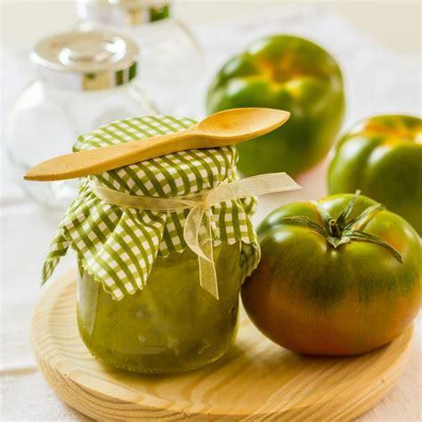 comment cuisiner des tomates vertes recette confiture de tomates vertes