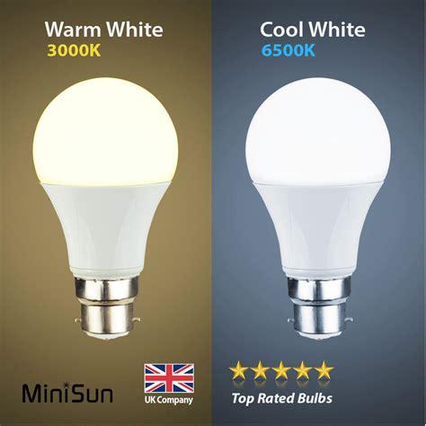 minisun 6w 10w led 60w 100w bc b22 gls l light bulbs