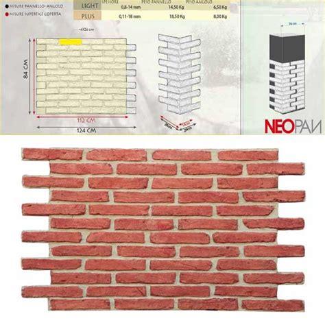piastrelle finto muro piastrelle finto muro fabulous pannelli finto mattone
