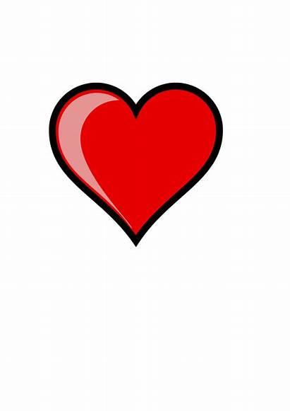 Clip Valentines Valentine Heart Bing Happy Card