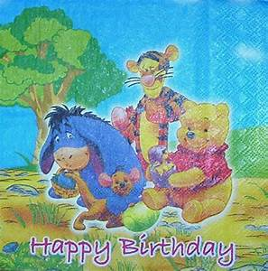 Winnie Pooh Servietten : 2506 winnie pooh birthday serviette ~ Sanjose-hotels-ca.com Haus und Dekorationen