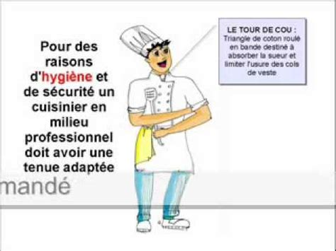 protocole de lavage des mains en cuisine collective la tenue du cuisinier