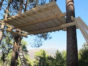 Cabane Dans Les Arbres Construction : fabrication cabane dans un arbre ~ Mglfilm.com Idées de Décoration