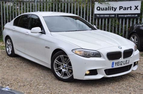 Bmw 5 Series 2012 by 2012 Bmw 5 Series 2 0 520d M Sport 4dr In Wembley