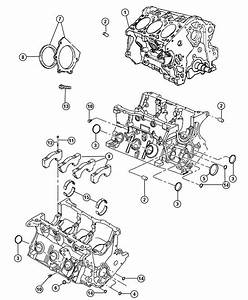 Dodge Grand Caravan Engine  Short Block  New Part For Core Return  Note  See