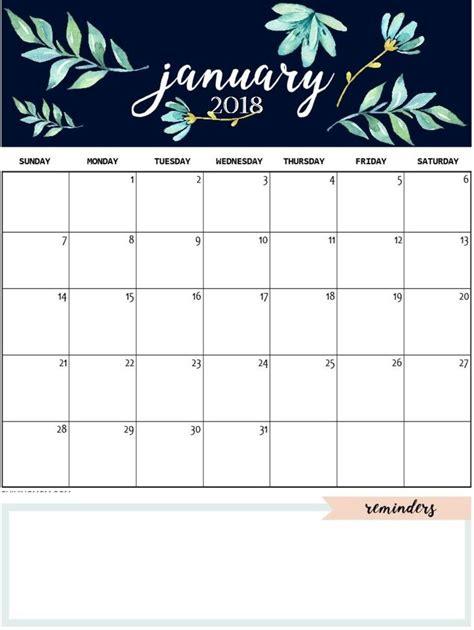 january  calendar template daily work  design