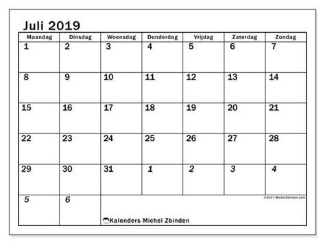 kalender juli mz maandkalender afdrukbare kalenders