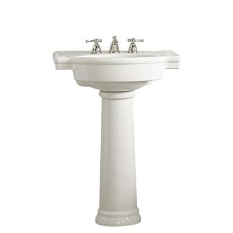 Pedestal Sinks Home Depot by American Standard Retrospect Pedestal Combo Bathroom Sink