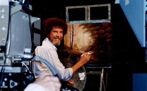 Meet The Real Bob Ross, A Meticulous Artist Behind Those