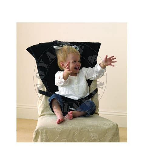 siege nomade bebe siège nomade en tissu pour bébé en voyage de koo di