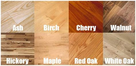 16 Types of Hardwood Flooring (Species, Styles, Edging