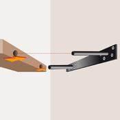 Support Etagere Invisible : monter une tag re fixation invisible placard rangement ~ Premium-room.com Idées de Décoration