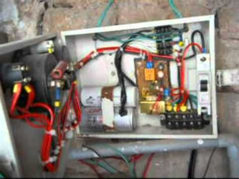 automatic starter  submersible pump youtube