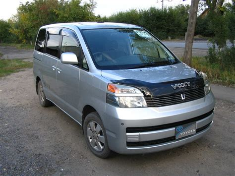 2002 toyota voxy pictures 2 0l gasoline ff automatic